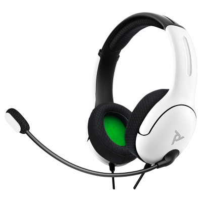 LVL40 Wired Stereo Gaming Headset: White