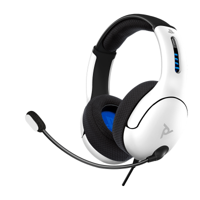 LVL50 Wired Stereo Gaming Headset: White
