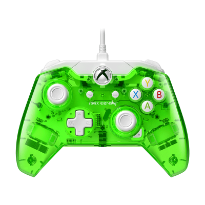 Rock Candy Wired Controller: Aqualime