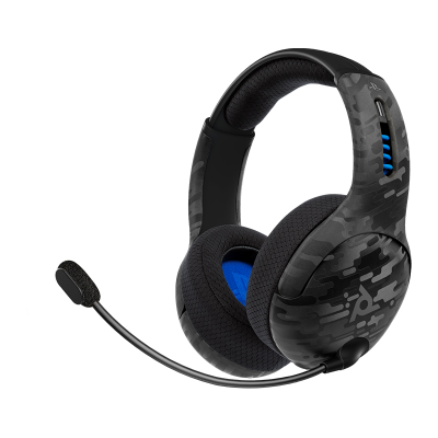 LVL50 Wireless Stereo Gaming Headset: Black Camo