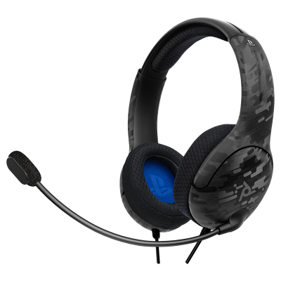 LVL40 Wired Stereo Gaming Headset: Black Camo