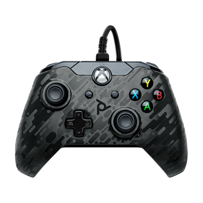 PDP Gaming Wired Controller: Phantom Black