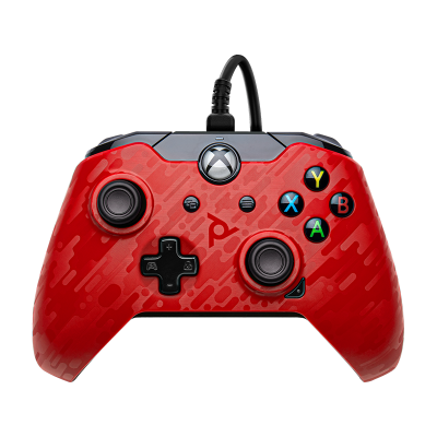 PDP Gaming Wired Controller: Phantasm Red