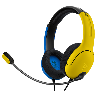 LVL40 Wired Stereo Gaming Headset: Wildcat Yellow & Blue