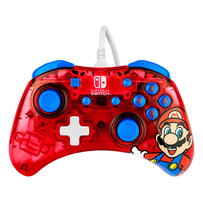 Rock Candy™ Wired Controller: Mario Punch