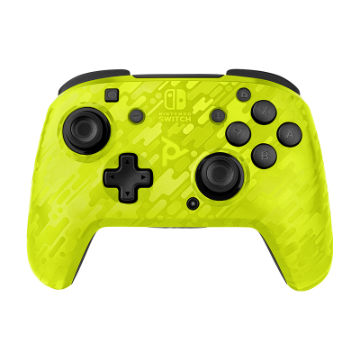 Faceoff Wireless Deluxe Controller - Yellow Camo