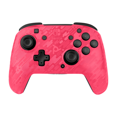 Faceoff Wireless Deluxe Controller - Pink Camo