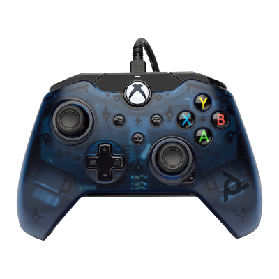 PDP Gaming Wired Controller: Midnight Blue