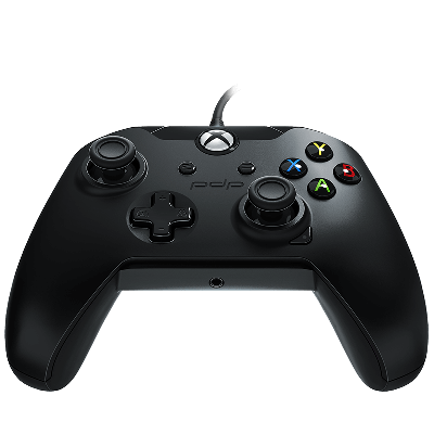PDP Gaming Wired Controller: Raven Black