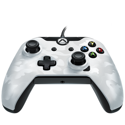 PDP Gaming Wired Controller: Ghost White