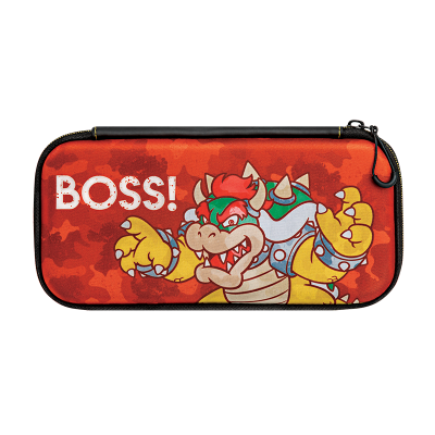 Slim Travel Case: Bowser Camo Edition