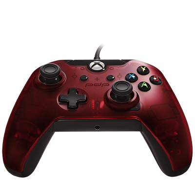 PDP Gaming Wired Controller: Crimson Red