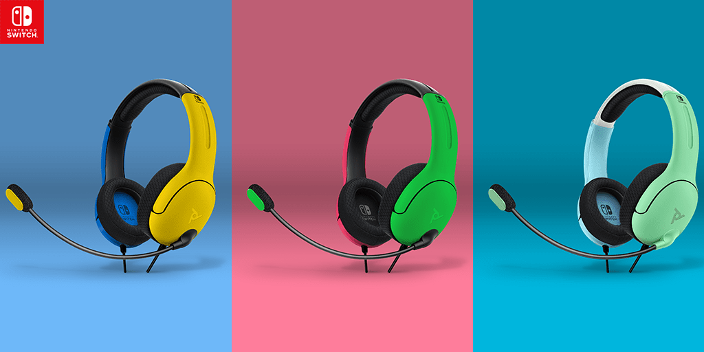 LVL40 wired headsets for Nintendo Switch