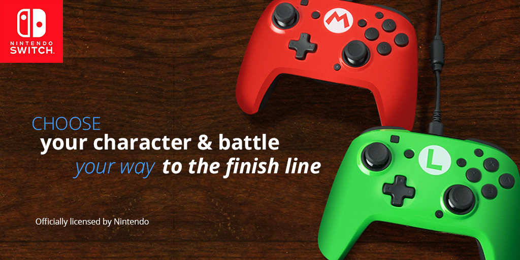 Product Spotlight: Nintendo Switch Faceoff™ Controllers