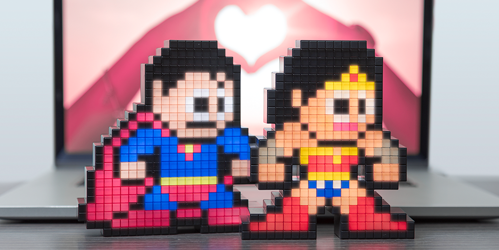 Celebrating Famous Pairings on Valentine's Day...with Pixel Pals™!