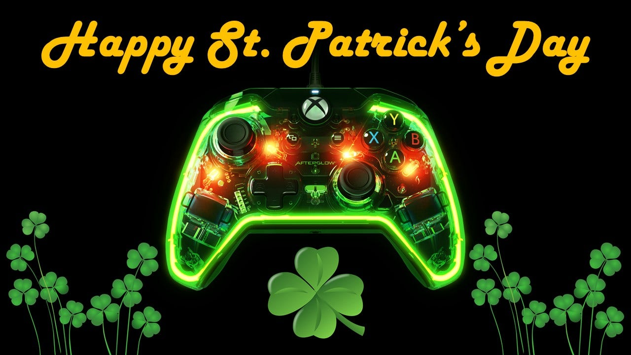 Happy St. Patrick's Day from PDP Gaming!