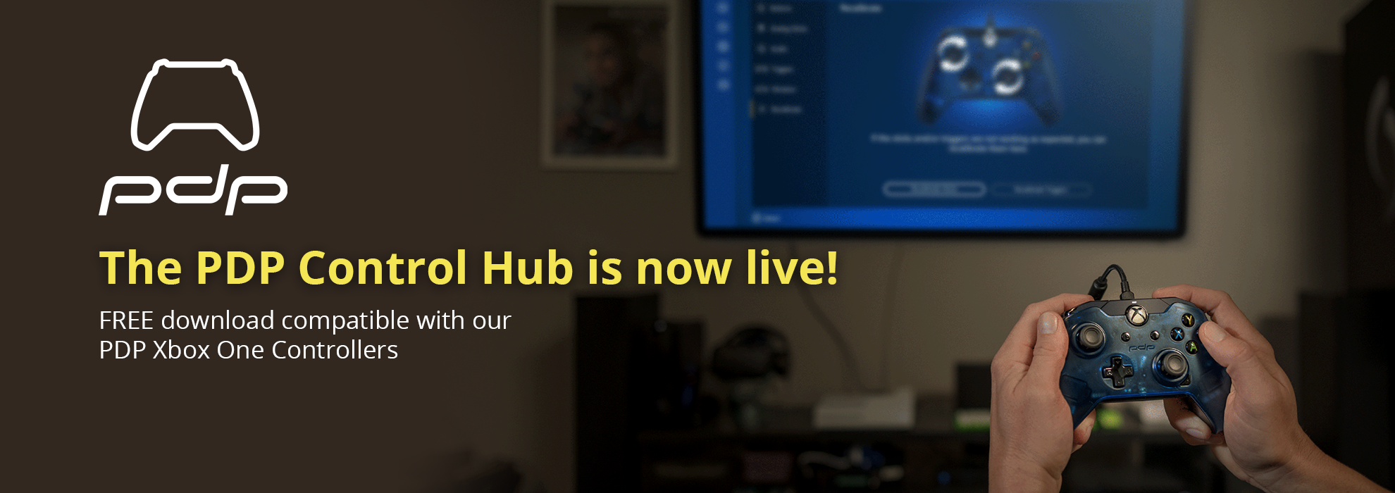 PDP CONTROL HUB – AVAILABLE FOR XBOX ONE & WINDOWS 10!