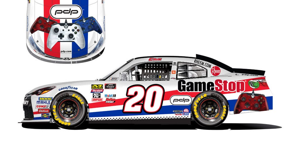 NASCAR and PDP Gaming Team Up to Crush the Competition!