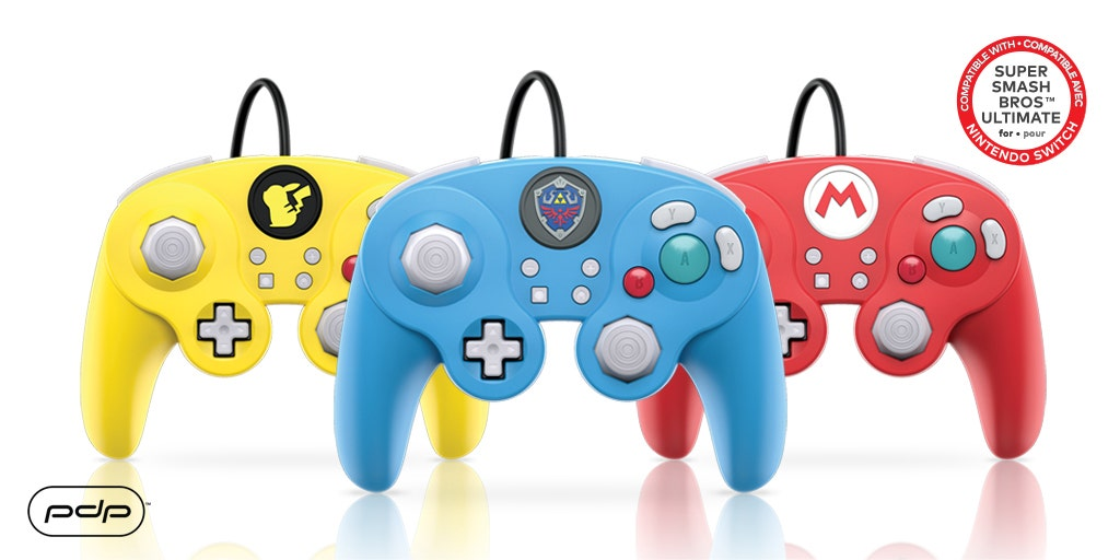 GameCube Inspired Nintendo Switch Pro Controllers Coming this Holiday Season!