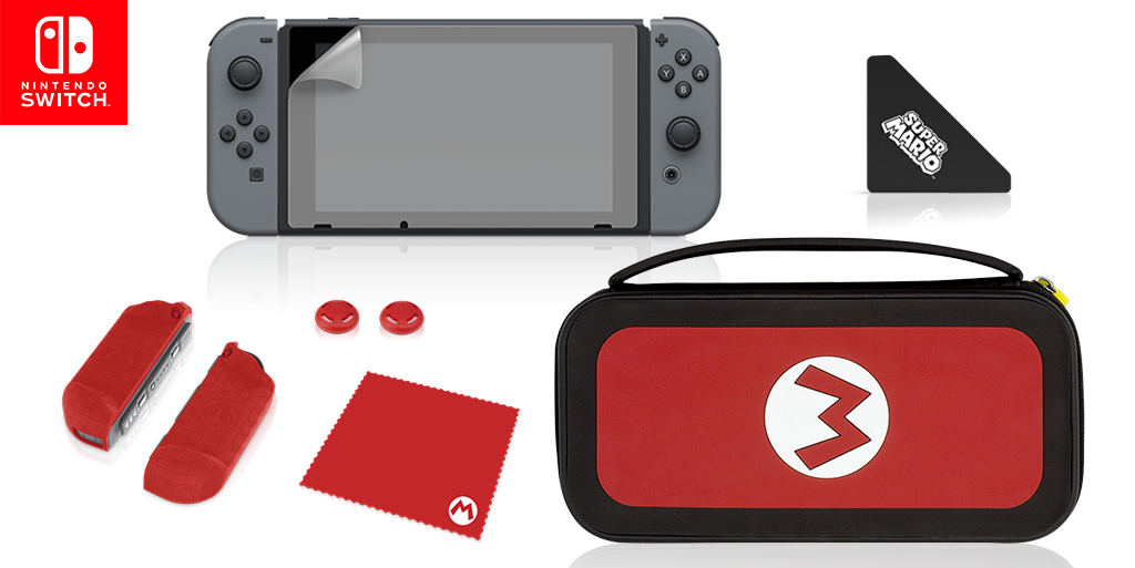 Enjoy Endless Hours of Gaming with the Starter Kit for Nintendo Switch!