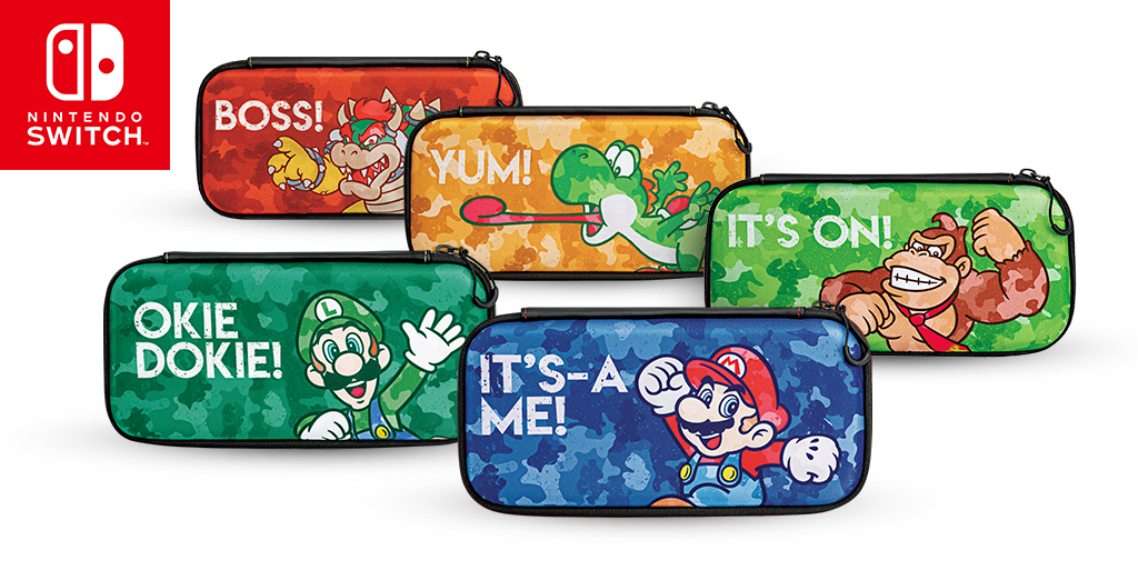 Announcing BRAND NEW Nintendo Switch Console Cases!