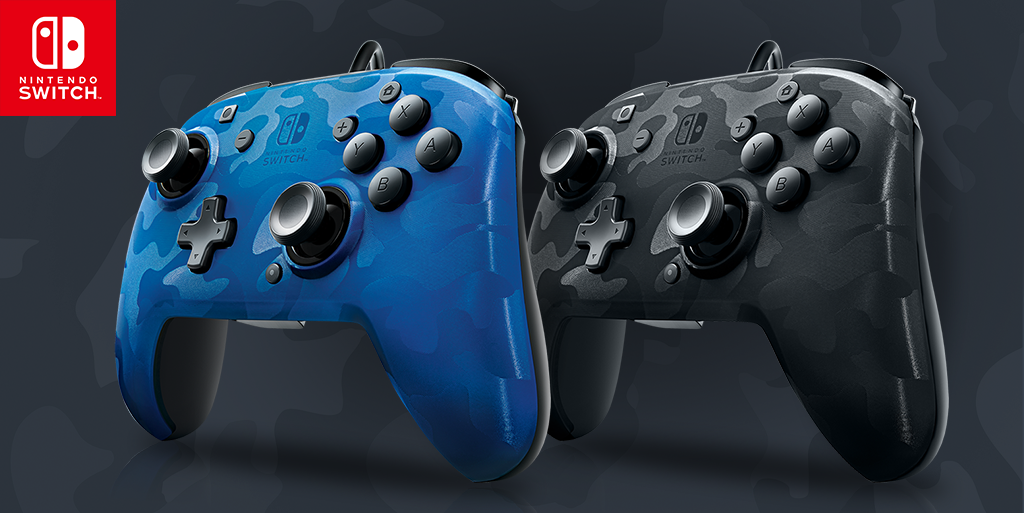 Introducing the Stealth Series Faceoff™ Wired Pro Controllers for Nintendo Switch!
