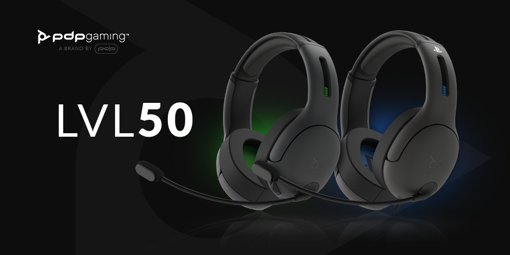 LVL50 Wired and Wireless Headsets Available Now!