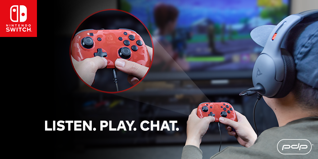 Announcing the NEW Faceoff Deluxe+ Audio Wired Controller for Nintendo Switch!