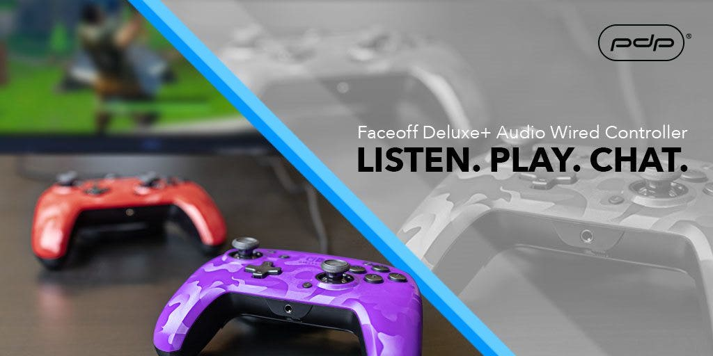 NEW Faceoff Deluxe+ Audio Wired Controller for Nintendo Switch Launching July 22. Pre-Order Today!