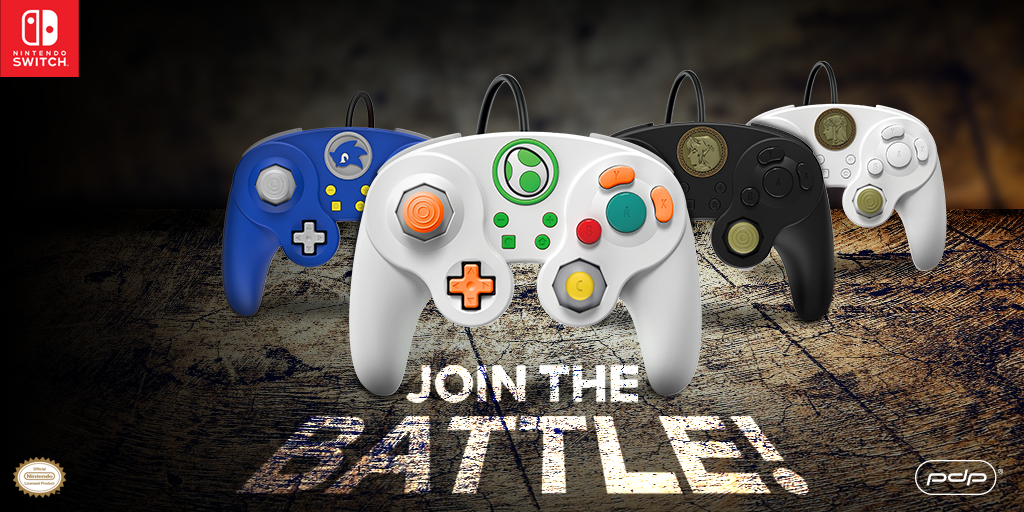 Four NEW Wired Fight Pad Pro Controller Characters Join the Battle!
