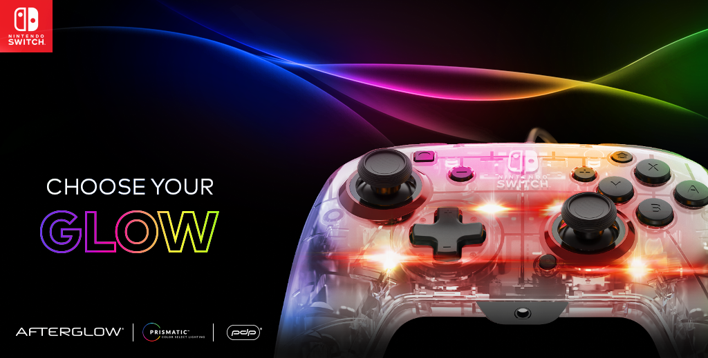 NEW Afterglow Deluxe+ Audio Wired Controller – Available for Pre-Order!