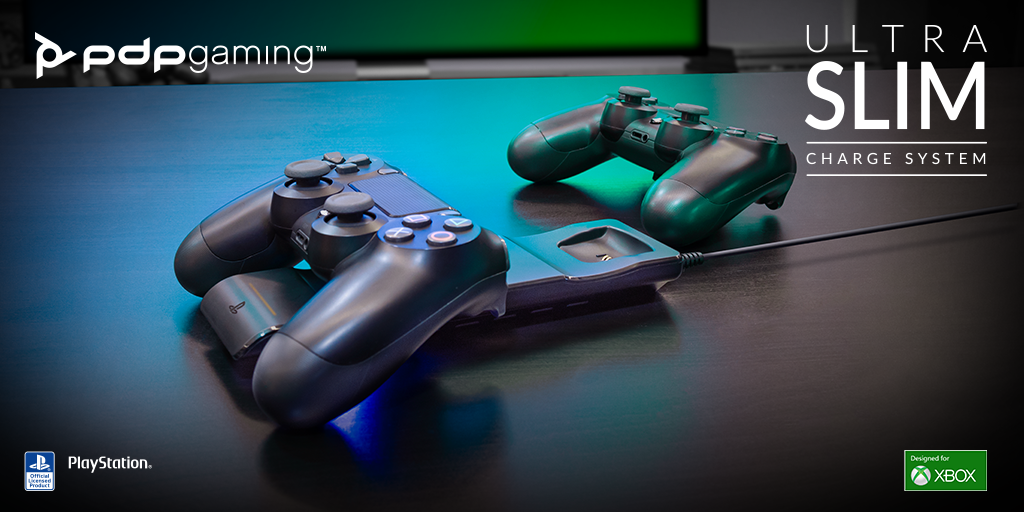 Introducing the NEW PDP Gaming Ultra Slim Charge System!
