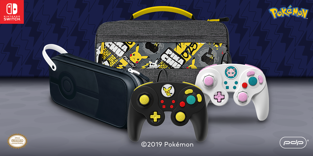 Available Now! NEW Line of Pokémon Nintendo Switch Accessories.