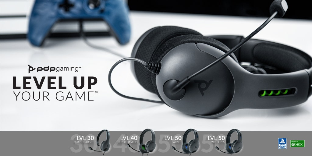 Welcome to the LVL Family: Introducing LVL30 and LVL40 Wired Headsets!