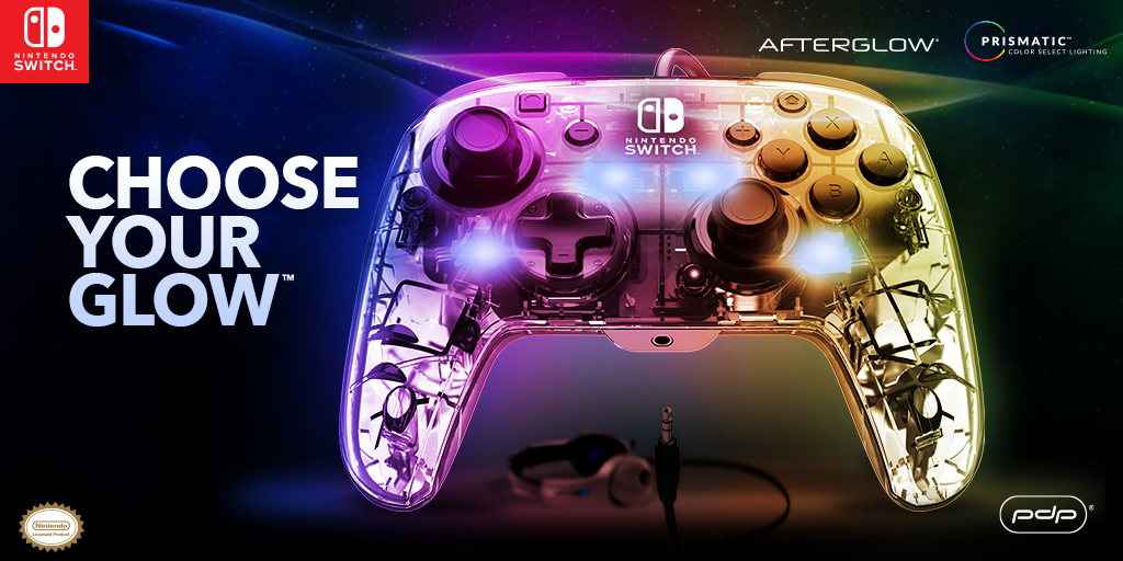 Afterglow Deluxe+ Audio Wired Controller for Nintendo Switch – Available Now!