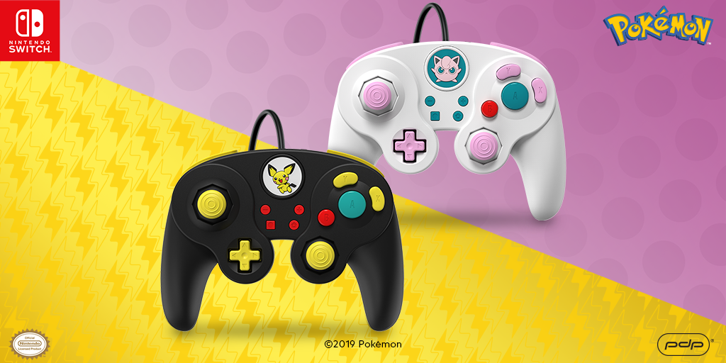 Prepare for Battle! Pichu and JigglyPuff Wired Fight Pads Are Available Now!