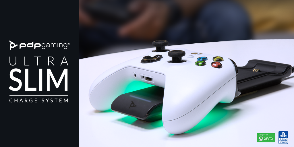 Take Charge with the NEW PDP Gaming Ultra Slim Charge System – Available Now!