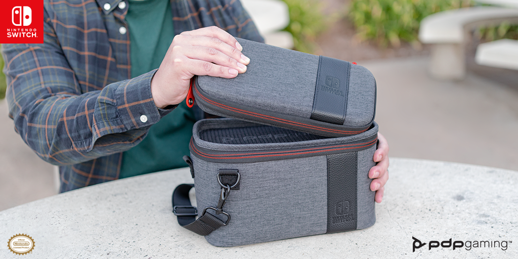 Pull Off the Ultimate Storage Stunt with our NEW Pull-N-Go Case for Nintendo Switch – Available Now!
