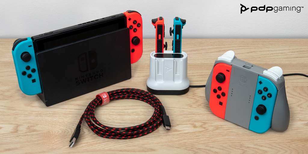You're in Charge! New PDP Gaming Charge Systems for Nintendo Switch