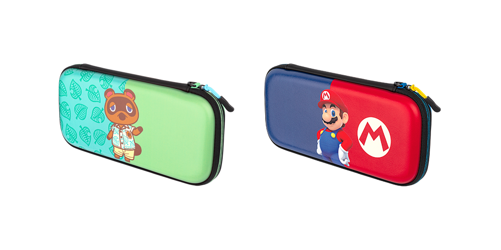 Animal Crossing and Super Mario themed nintendo switch case